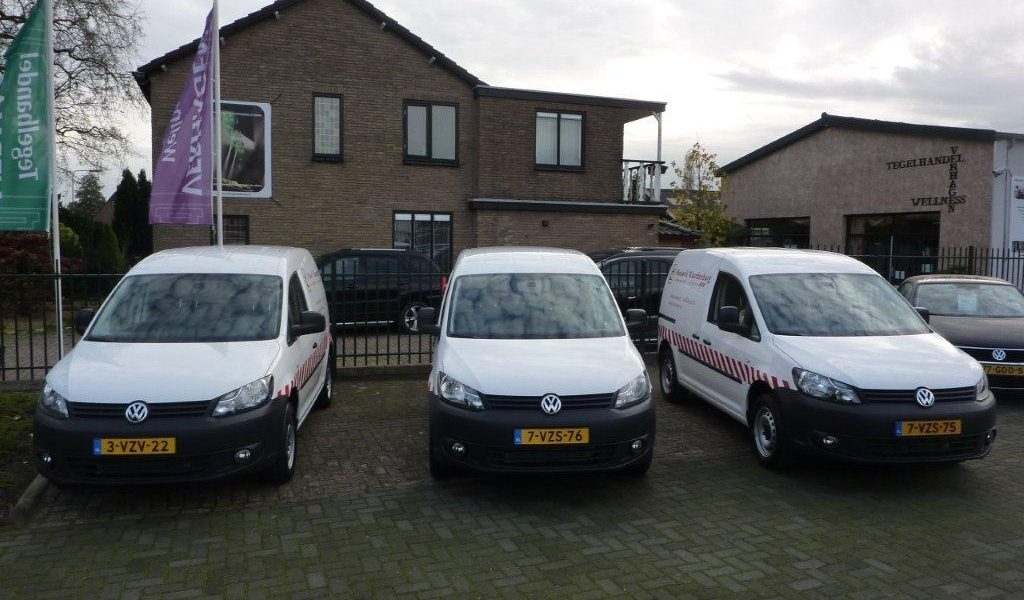 Aflevering 3 nieuwe VW Caddy's