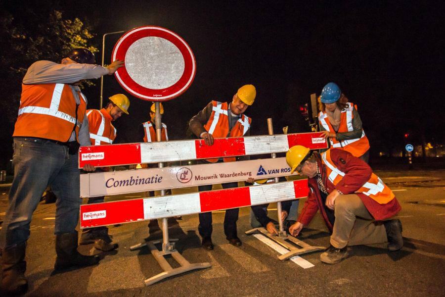 Bruistensingel-Zandzuigerstraat weer vrijgesteld voor het verkeer