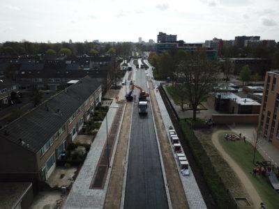riolering en asfalteren kooikersweg s'Hertogenbosch